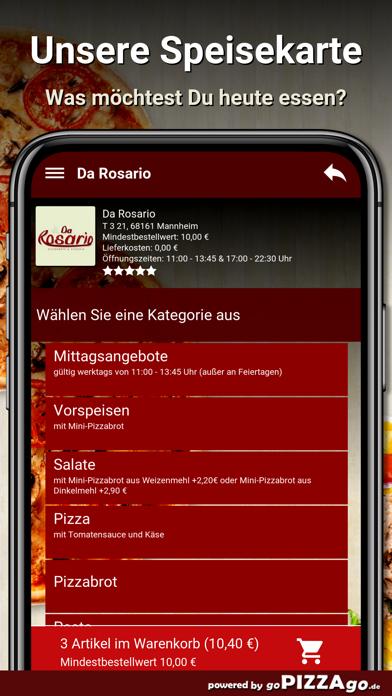 Da Rosario Mannheim screenshot 4