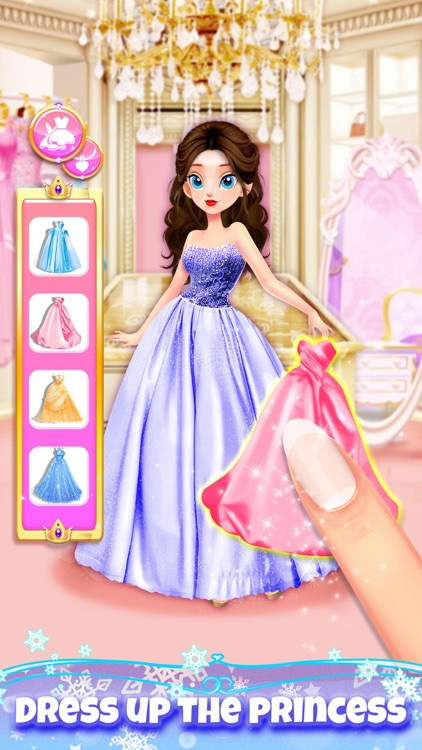 Princess Hair Salon Girl Games screenshot-3