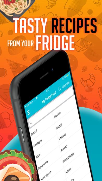 My Fridge: food recipes Screenshot