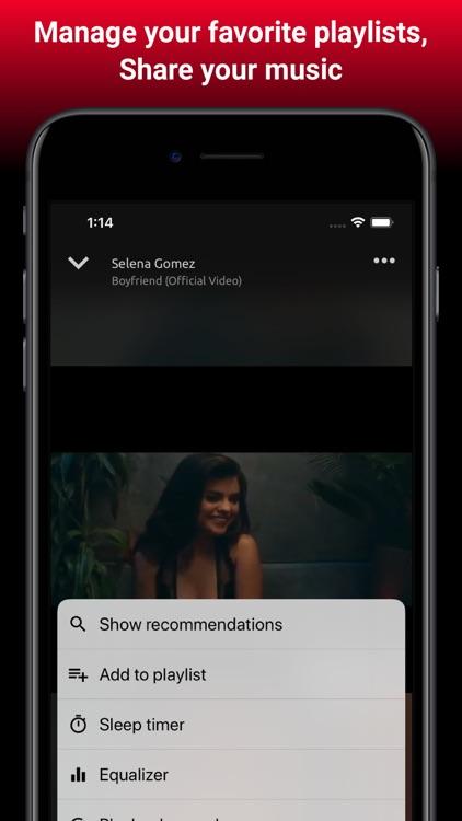 Online Music & Video Player screenshot-7
