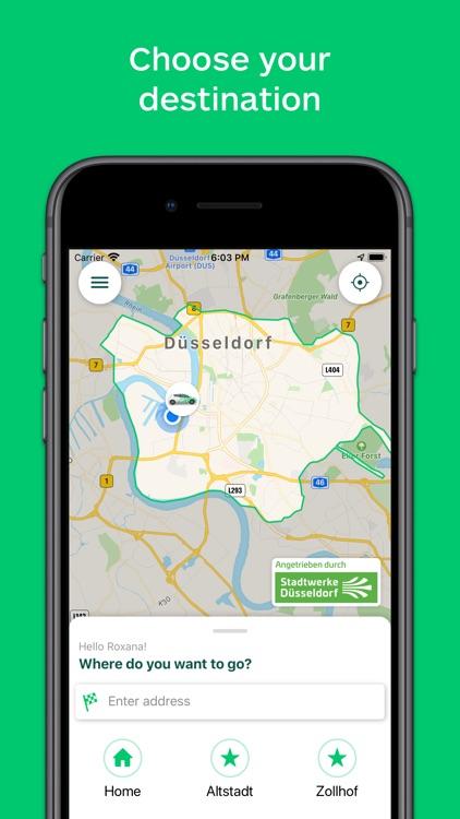 CleverShuttle: Ridesharing screenshot-0