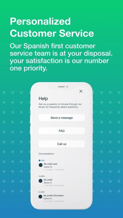 PODERcard - Mobile Banking screenshot-3
