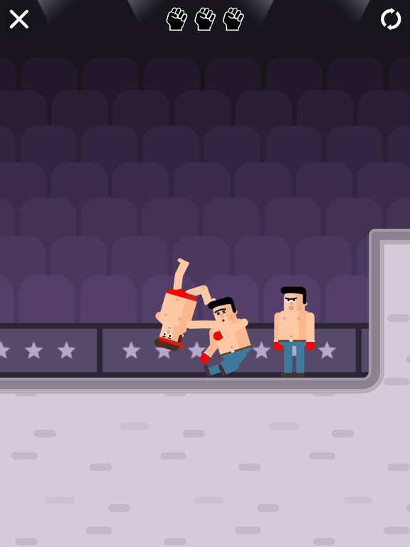 Mr Fight - Wrestling Puzzles screenshot 4