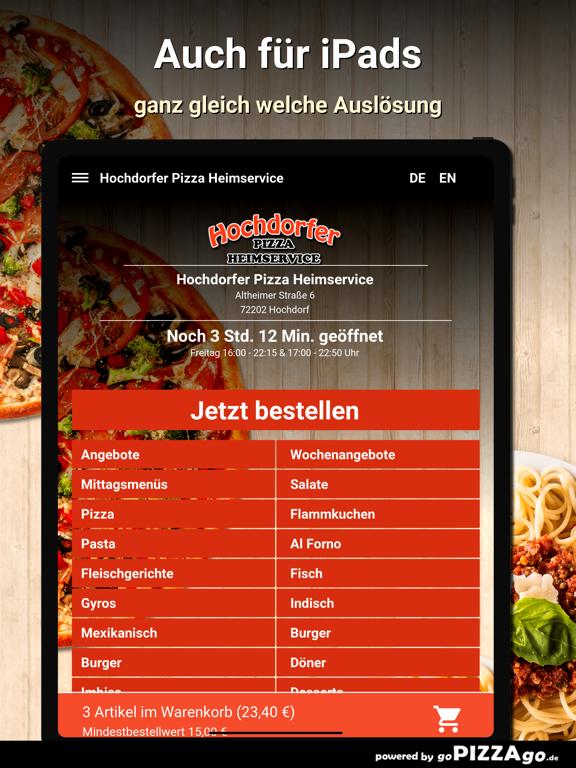 Hochdorfer Pizza Hochdorf screenshot 7