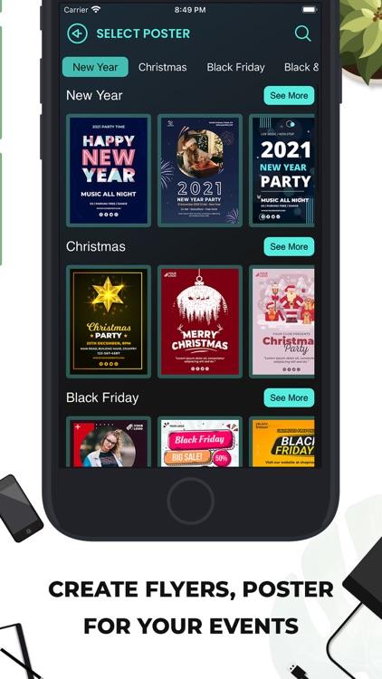 Poster Maker Flyer Maker 2021 screenshot-3