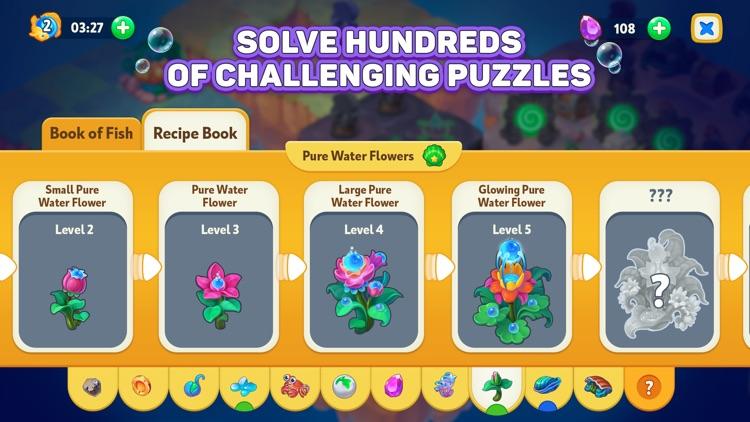 Sea Merge! fish aquarium games screenshot-4