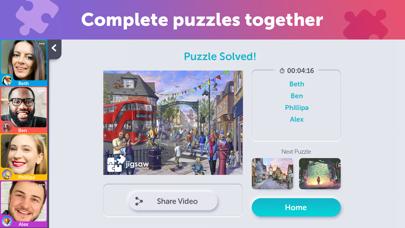 Jigsaw Video Party screenshot 6