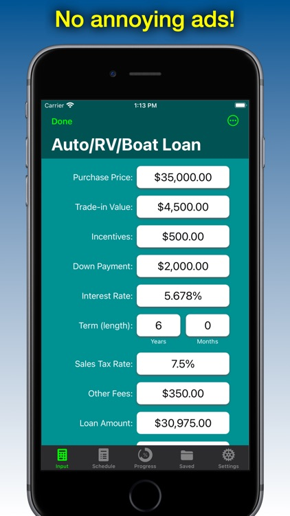Loan Calculator - Loan2Me screenshot-4