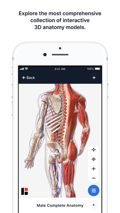 BioDigital Human - 3D AnatomyScreenshot of 1
