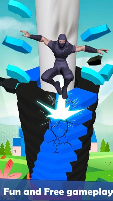 Stack Ninja Jumping Blast Fun screenshot 3