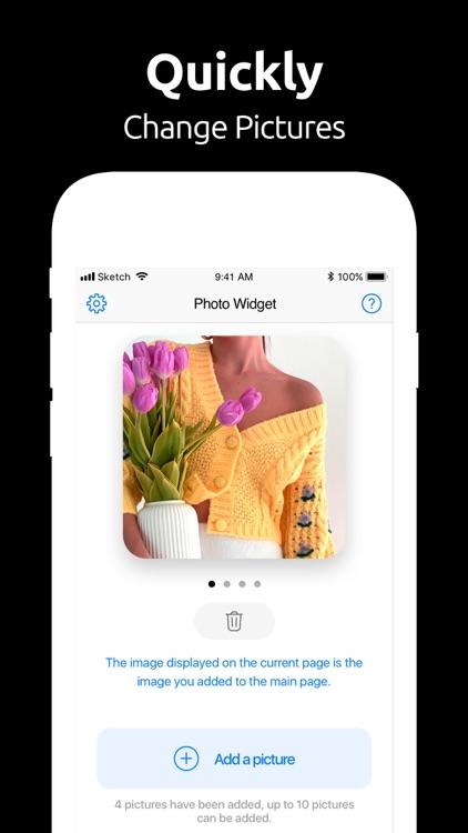 Photo Widget 〇 screenshot-4