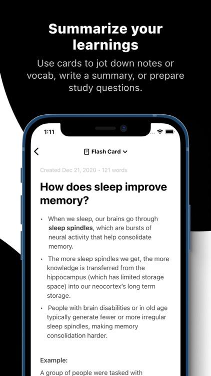 Summarize: Read & Remember screenshot-3
