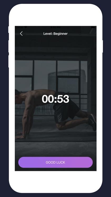 Plank Workout: Challenge screenshot-3