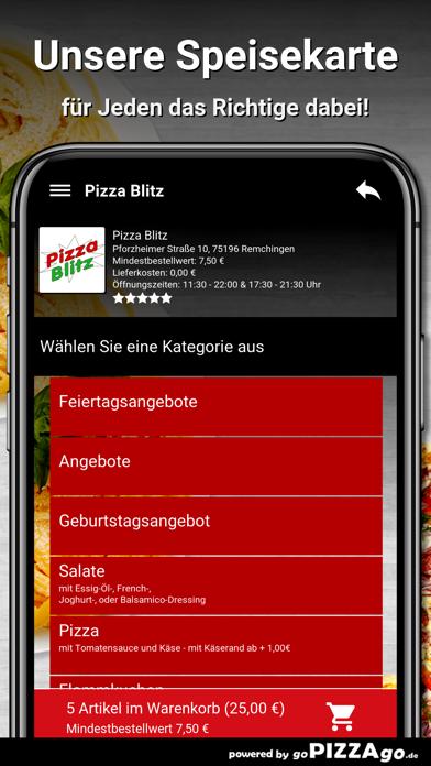 Pizza Blitz Remchingen screenshot 4