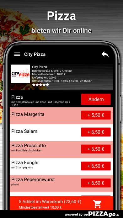 City Pizza Arnstadt screenshot 2
