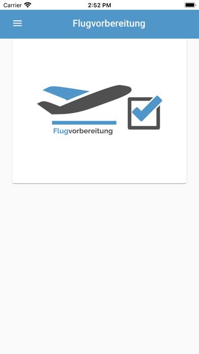 Flugvorbereitung screenshot 1