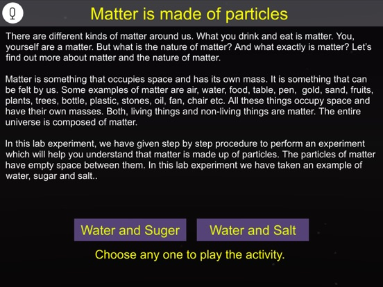 Matter is made of particles screenshot 10