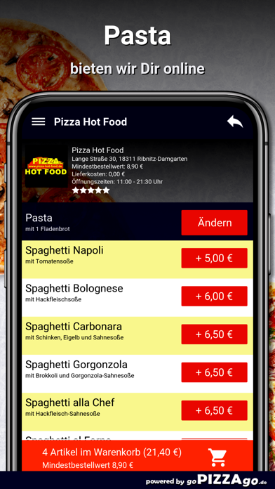 Hot Food Ribnitz-Damgarten screenshot 5