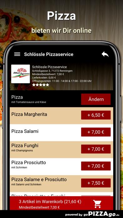 Schlössle Pizzaservice screenshot 5