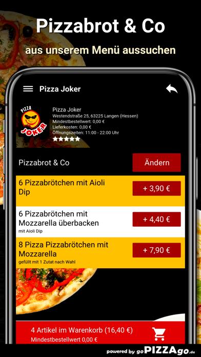 Pizza Joker Langen (Hessen) screenshot 5