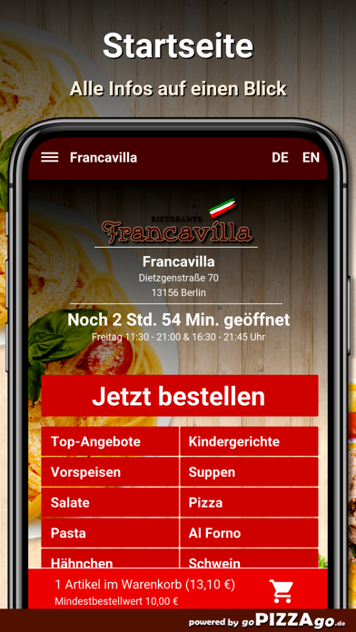 Francavilla Berlin screenshot 2