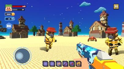 Fire Craft: 3D Pixel World screenshot 3