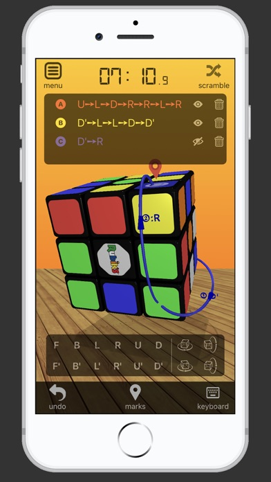 3D Rubik's Cube screenshot 3