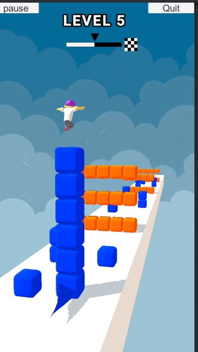 Cube Stacker Surfer 3D Run screenshot 3