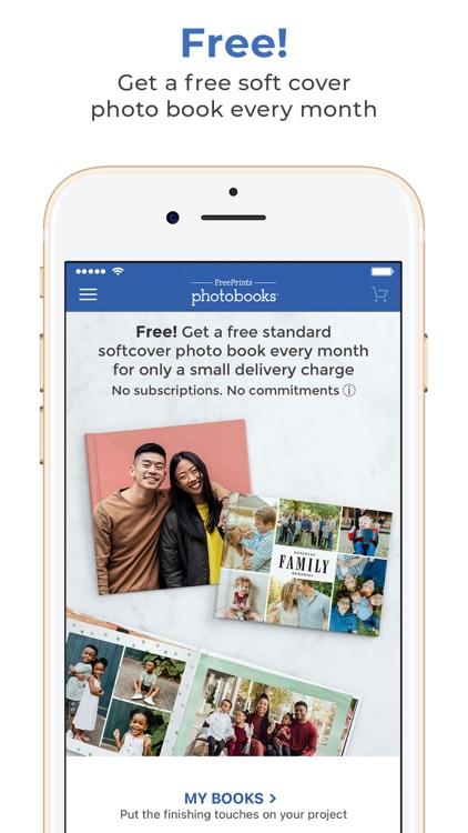 FreePrints Photobooks IE screenshot-0