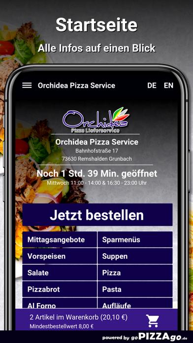 Orchidea Pizza Remshalden screenshot 2