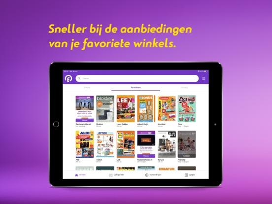 Reclamefolder iPad app afbeelding 3