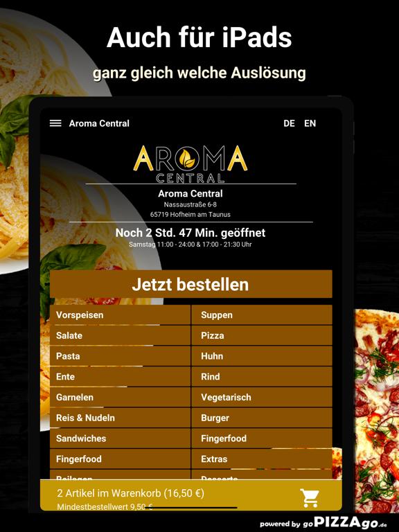 Aroma Central Hofheim screenshot 7