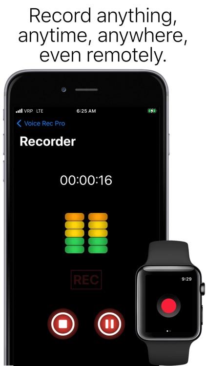 Voice Rec Pro screenshot-0
