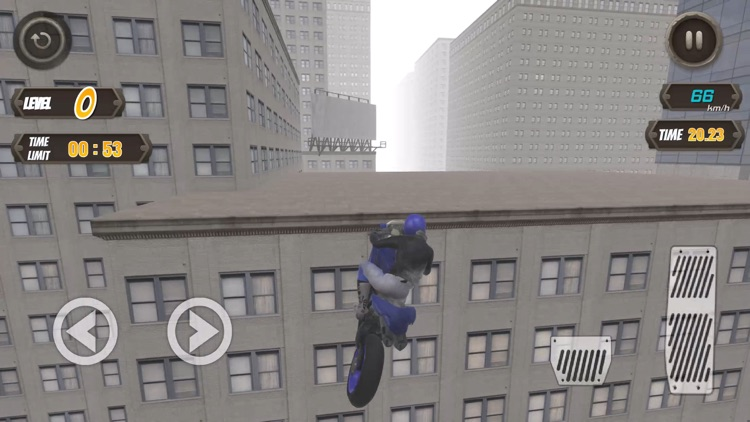 Rooftop Biker screenshot-1