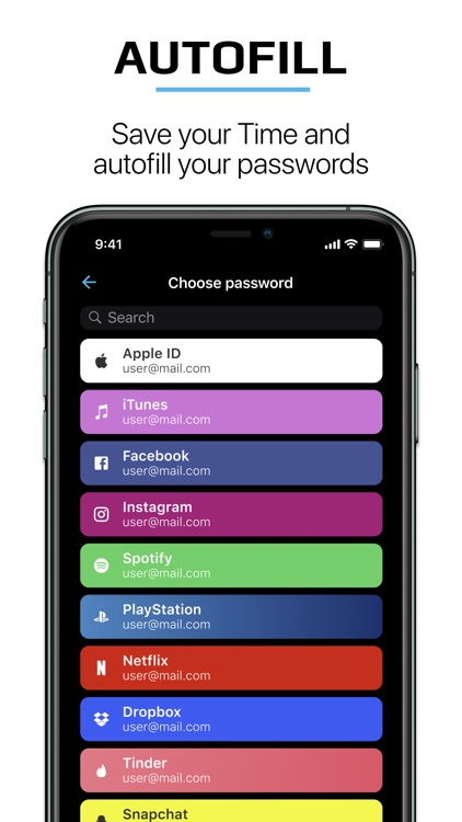 Password Manager - SecureX PRO screenshot-3