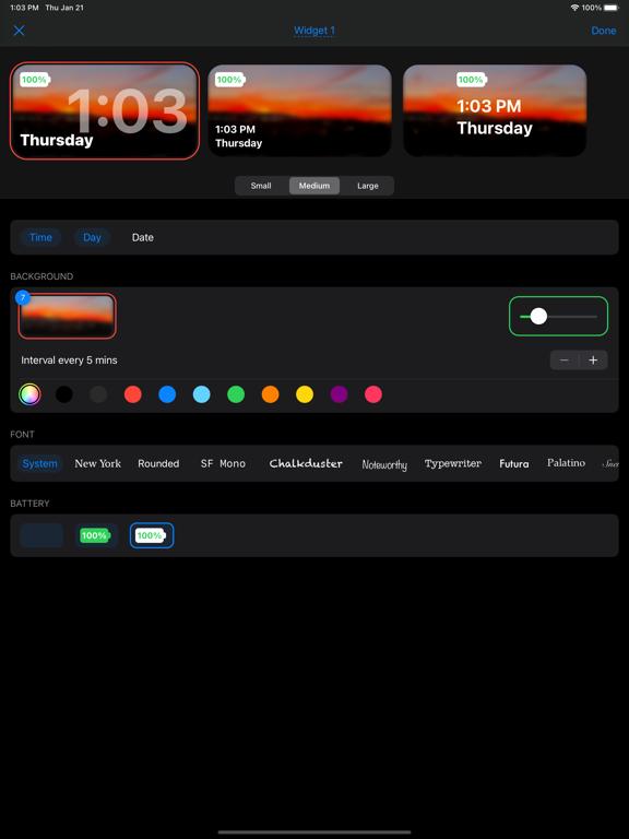 Widgetify: Home Screen Widgetsのおすすめ画像4