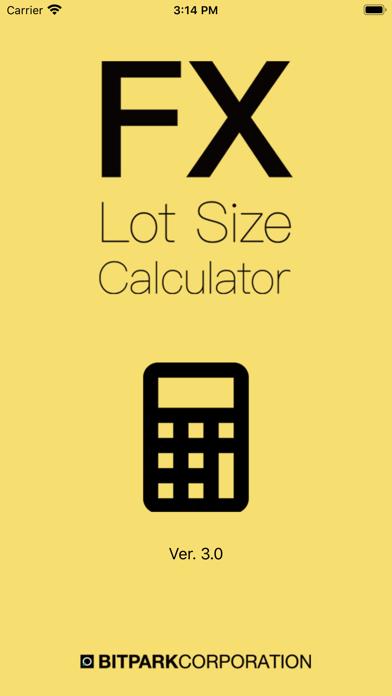 FX Lot Size Calculatorのおすすめ画像1