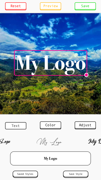MyLogo: Photo Signature Maker screenshot 5