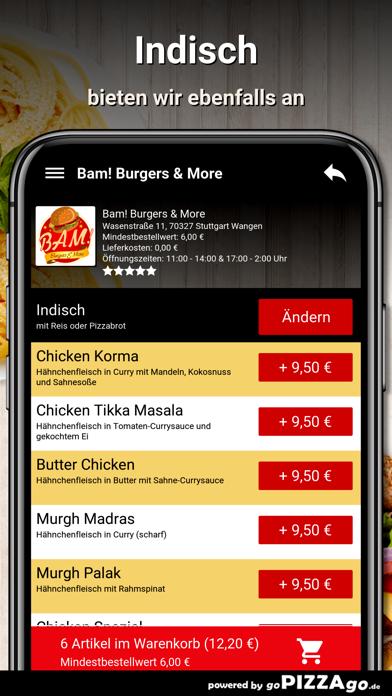 Bam Burgers Stuttgart Wangen screenshot 6