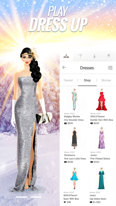 Covet Fashion Dress Up Game Screenshot