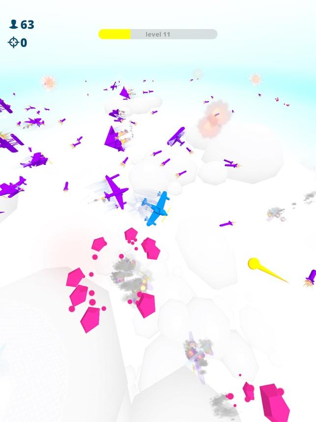 Azure Planes 3D