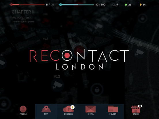 Recontact London: Cyber Puzzle screenshot 6