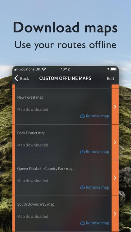 OS Maps: Walking & bike trails screenshot-3