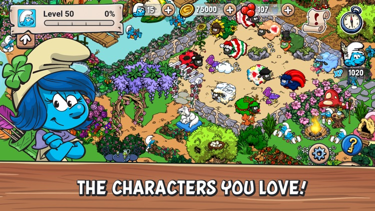 Smurfs' Village screenshot-3