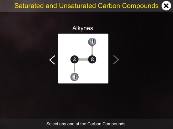 Saturated & Unsaturated Carbon screenshot 7