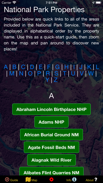 US National Parks Map & Guide! screenshot 6
