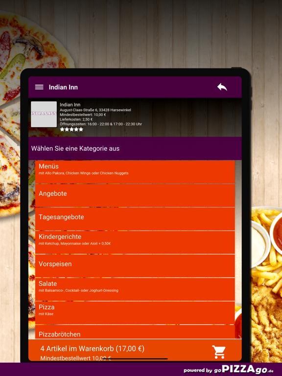 Indian Inn Harsewinkel screenshot 8