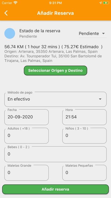 Reservas de Taxis Las Palmas screenshot-5