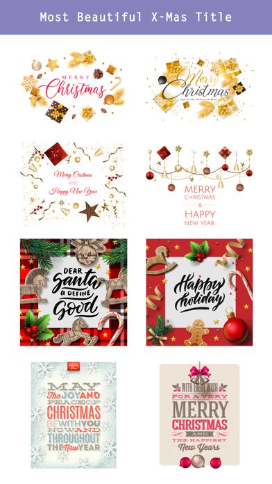 Realistic Christmas Stickers screenshot 4