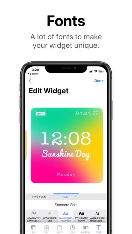 Widgets PRO - Photo Time Color screenshot-7
